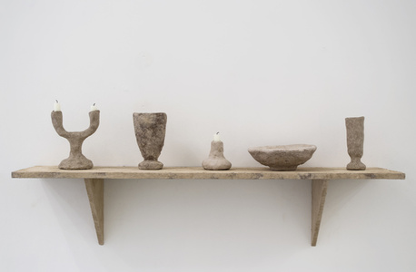 Stoned Shelf with Objects