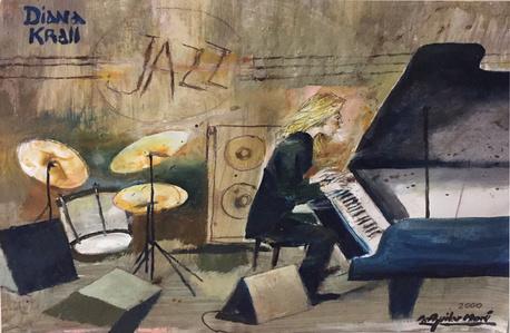 Diana Krall jazz