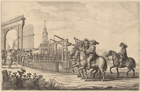 Entry of Marie de Medici into Amsterdam [plate 1 of 6]