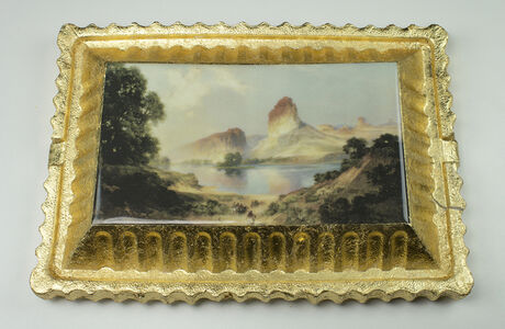 Preservation & Use (An Indian Paradise, (Green River, Wyoming), 1911, Thomas Moran)