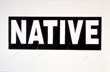 Black Native Bumper Sticker