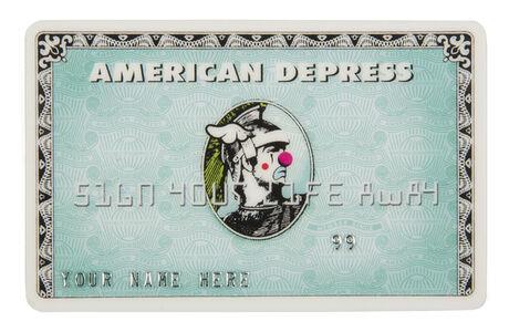 American Depress MonsterCard