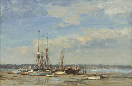 Barges and Dinghies – Pin Mill