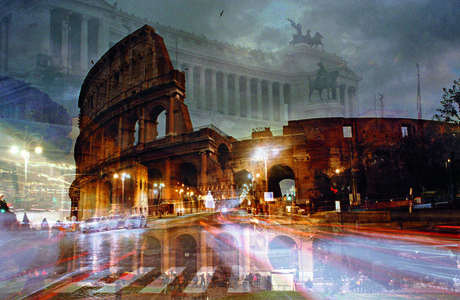 Roma (Colosseo notturno)