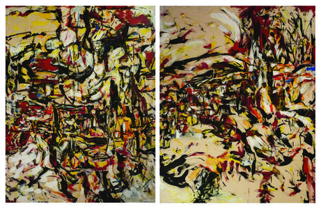 Untitled - diptych