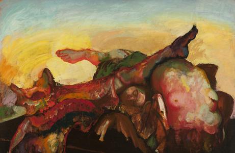 Torso and Limbs with Yellow Sky