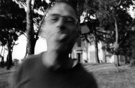 Self-Portrait Pretending to be Haim Steinbach as Played by Haim Steinbach