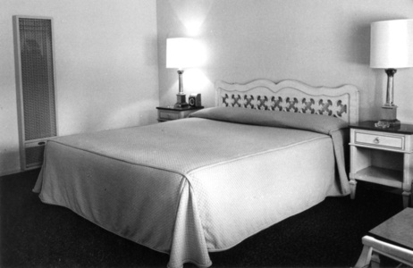 Motel Room, Central California Coast, April 1967