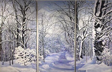 Lover's Lane (Triptych)