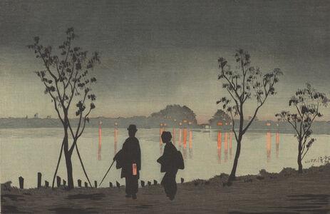 Sumida River by Night