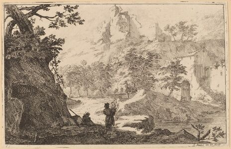 Ruins on a Hilltop