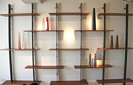 Wall Mounted Bookcase by Ignazio Gardella fro Azucena