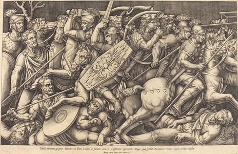 Les Soldats Romains Combattent Contre Les Daces