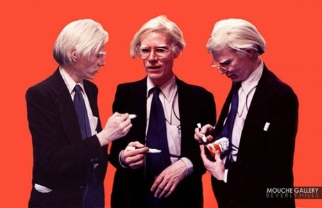 Andy Warhol, The Signing