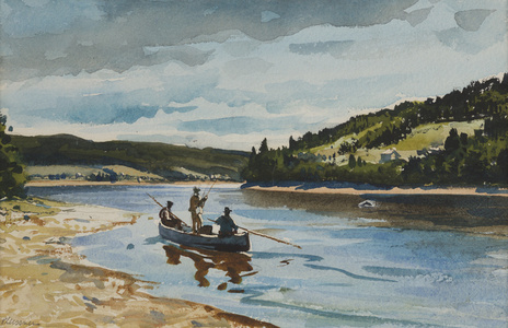 Salmon Fishing on the Restigouche