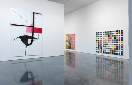 Albert Oehlen: Elevator Paintings: Trees