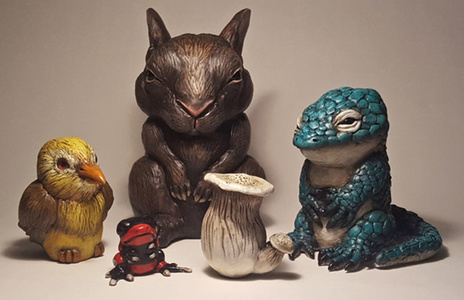 Little Critters, Big Problems (Endangered Species Chibi) - Full Set