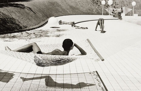 Swimming Pool Designed by Alain Capeilleres, Le Brusc, South of France