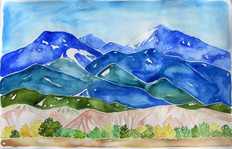 Jemez Mountains, Chicoma Peak