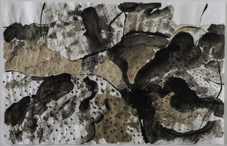 Portfolio with 9 Ink Paintings, 2013