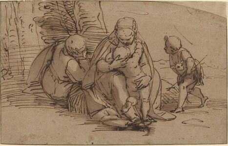 Holy Family with Infant Saint John