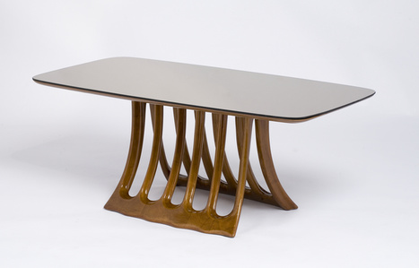 Sculptural Cocktail Table