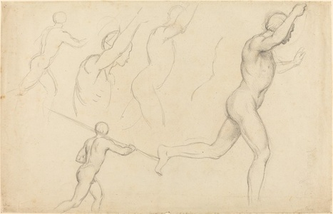 Studies of Men Running