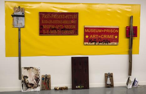 Neoist Cultural Revolution (installation view)