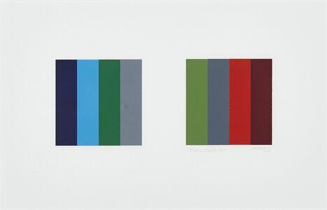 Twelve Colour Pair, Study