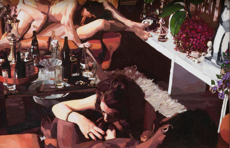 The Golden Age: Untitled (Foursome Around Coffee Table)