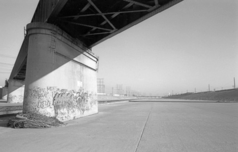 Los Angeles River, Train Bridge & Debris II