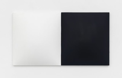 Untitled (white and midnight blue)