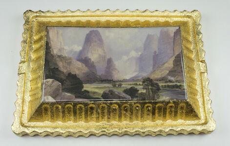 Preservation & Use (Valley of Babbling Waters, Southern Utah,1876, Thomas Moran)