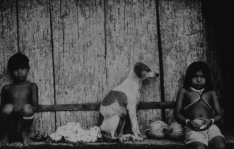 Marubo Children and Dog Resting
