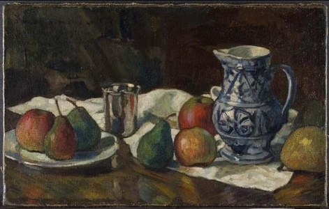 Still Life with Blue and White Jug