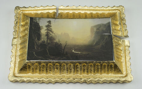 Preservation & Use (Yosemite Valley, Glacier Point Trail, 1873, Albert Bierstadt)