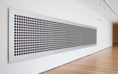 Microtonal Wall: 1,500 divisions of four octaves from C3 to C7