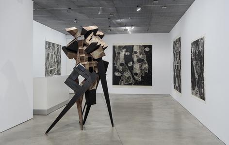 Mel Kendrick: Woodblock Drawings