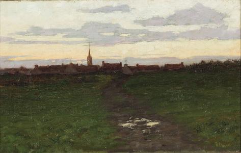 Landscape a Dusk