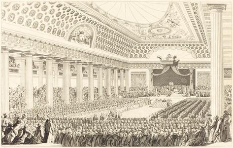 L'Ouverture des Etats-Generaux a Versailles, le 5 mars 1789