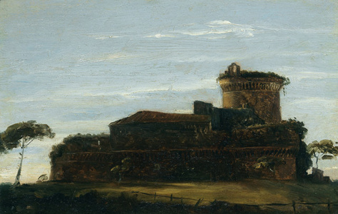 The Castello at Ostia at Sunset
