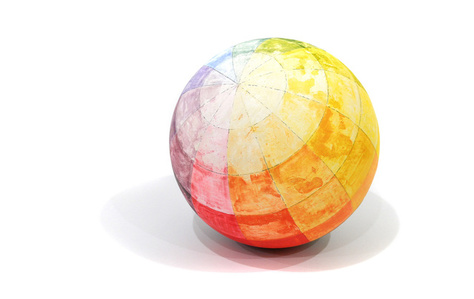 Color Sphere (After Otto Runge)