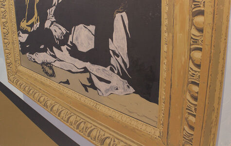 Crucifixion Obscured (original)