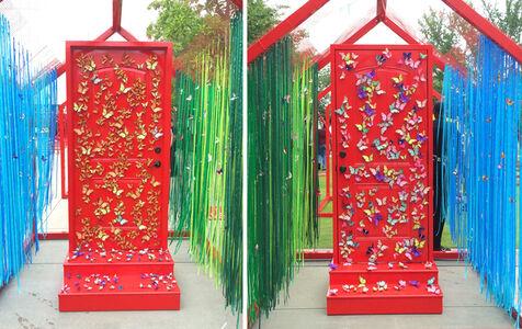 Butterflies Door