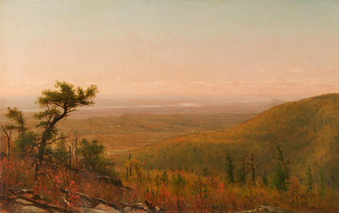The Hudson Valley from the Catskill Mountains