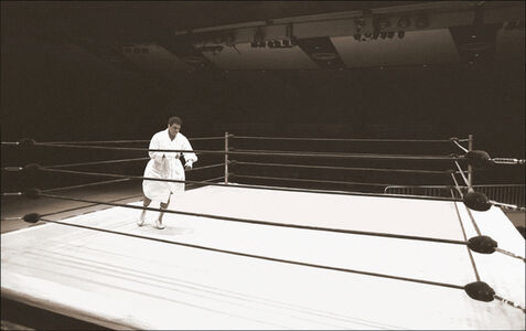 Muhammad Ali, Shadowboxing (Madison Square Garden, NYC)
