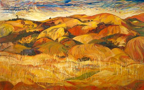 Landscape Remembered Golan Diaries 9712