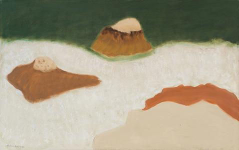 Ten Pound Island (Sea and Rocks)