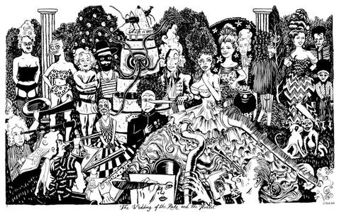 The Wedding of The Rake and The Harlot