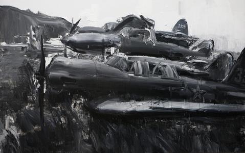 Abandoned Plane Factory